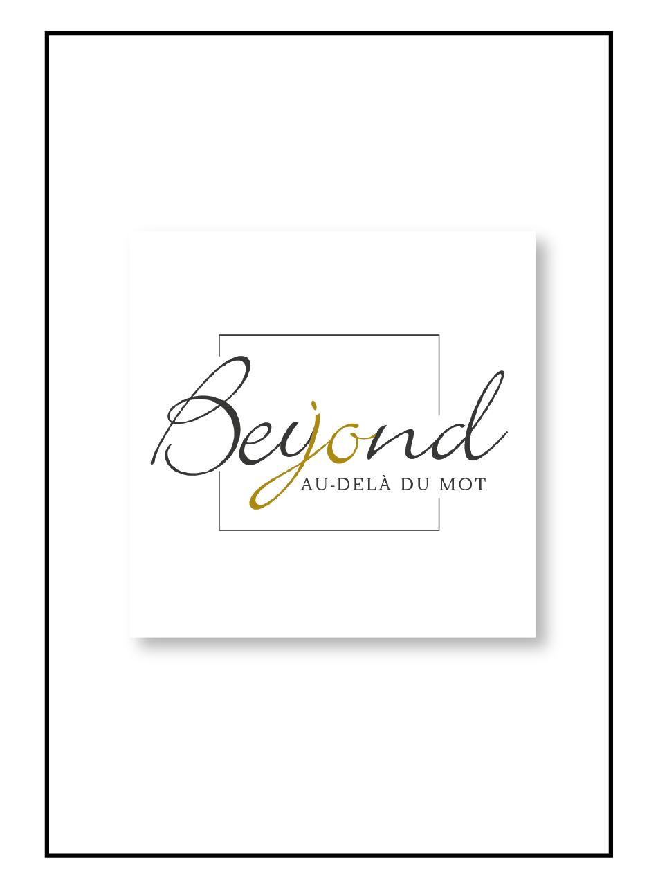 Logo pour la traductrice Beyond