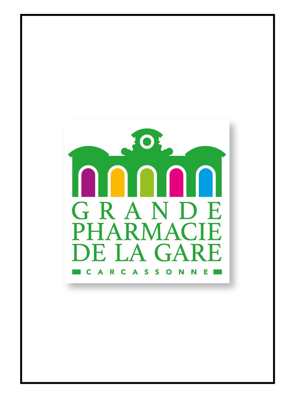 Logo pour la grande pharmacie de la gare