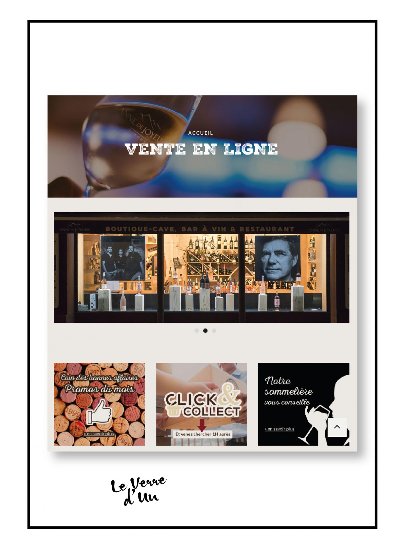 web design site internet le verre d'un carcassonne site de vente de vin en ligne